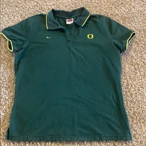 U of O polo shirt